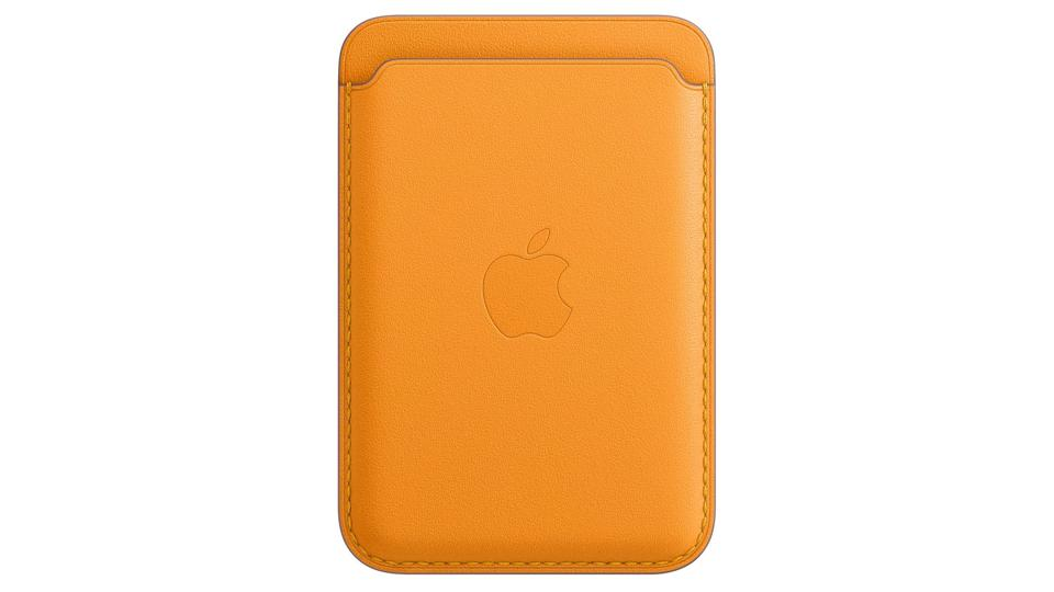 apple leather wallet