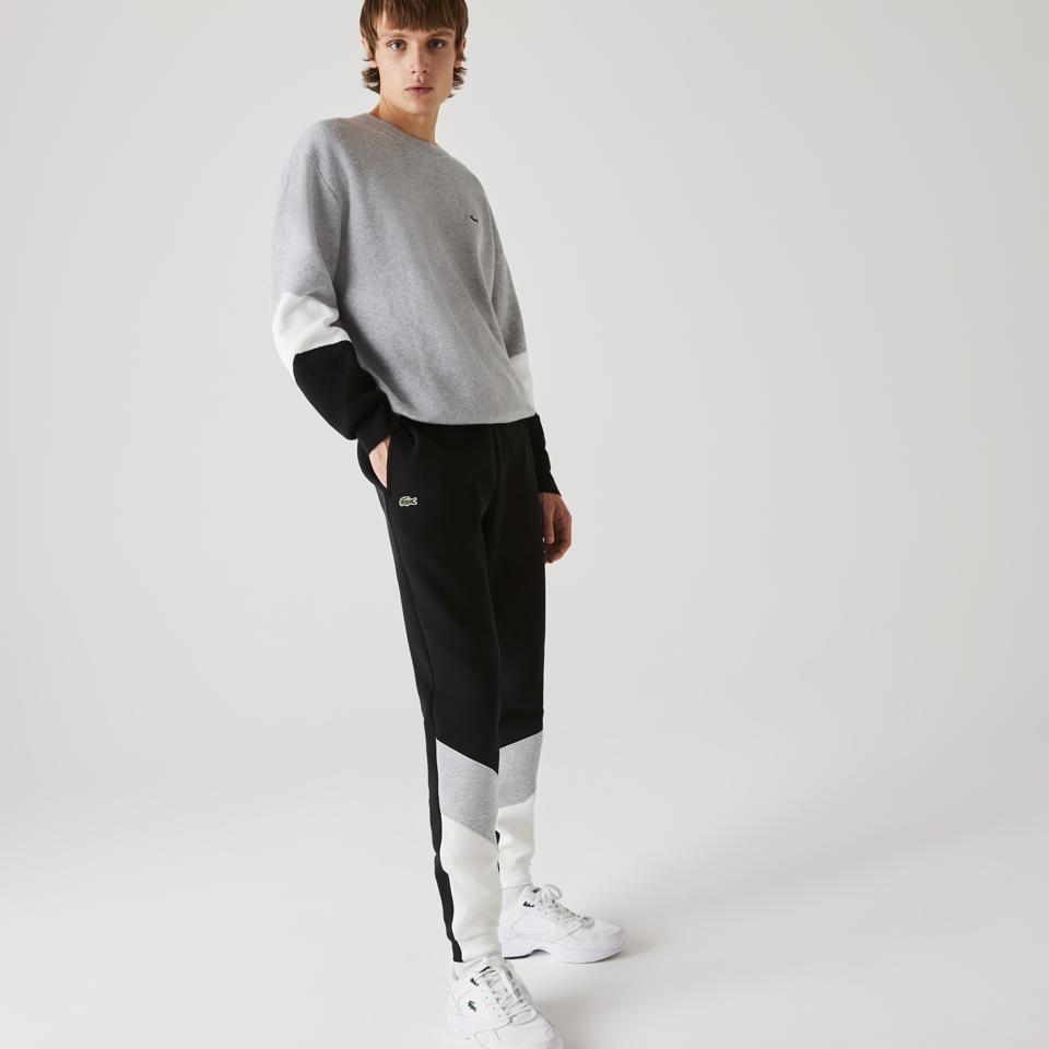 Men's Colorblock Pique Fleece Jogging Pants