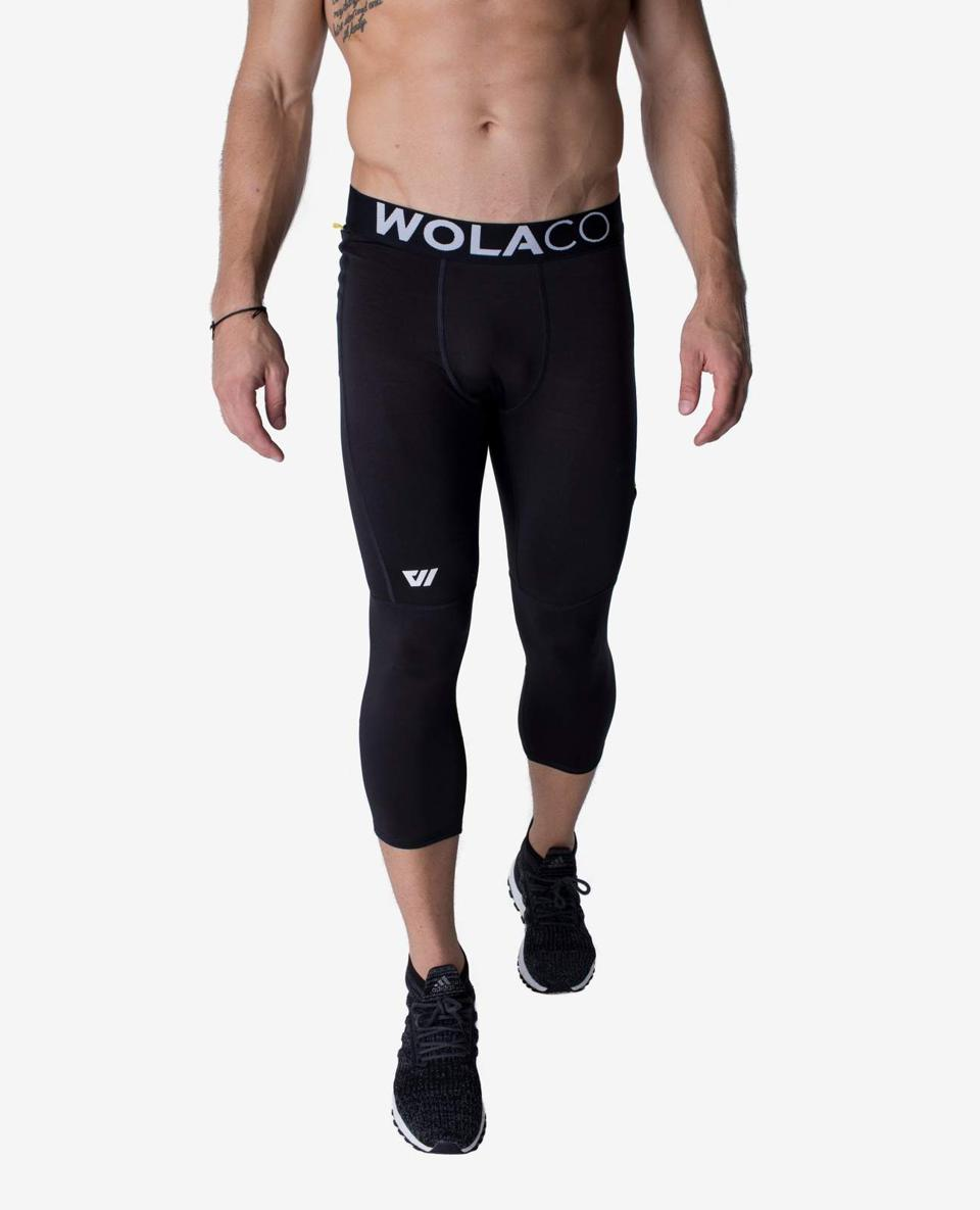 Find the Fulton Full Length Compression Tight  and other Wolaco pieces at Future Proper, the first online boutique for premium men's activewear brands.