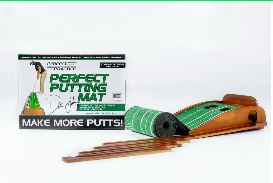 The Dustin Johnson endorsed Perfect Putting Mat