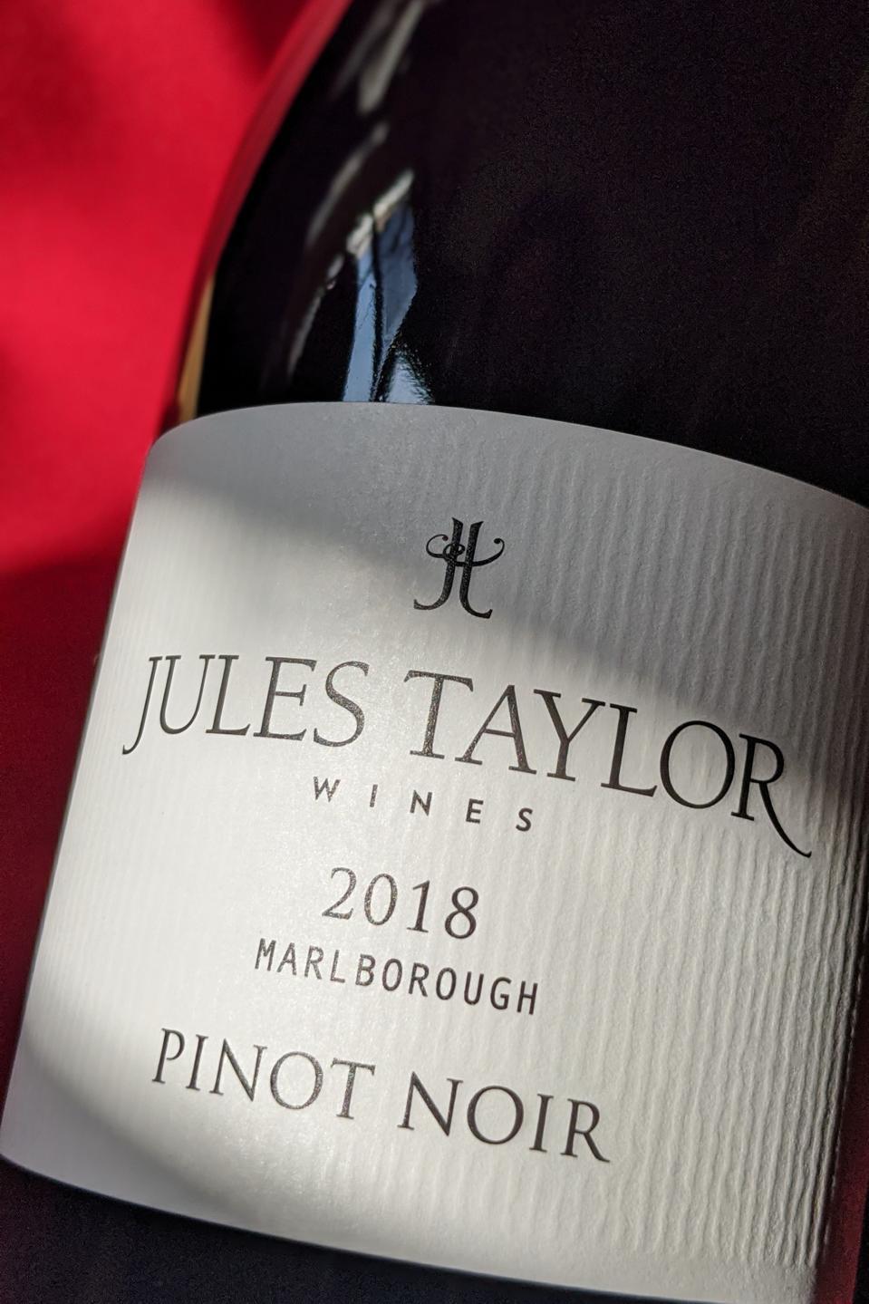 2018 Jules Taylor Pinot Noir