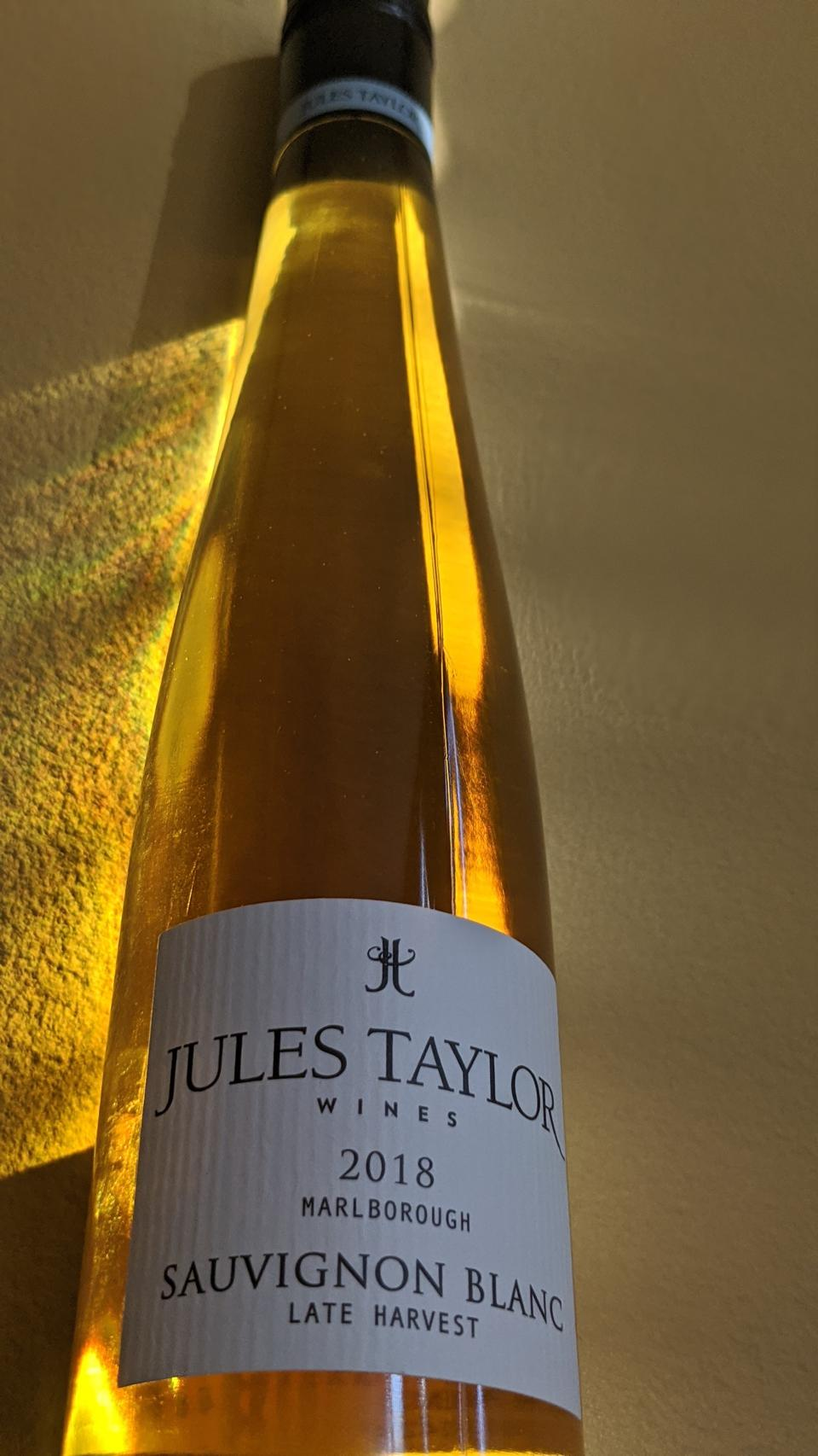 2018 Jules Taylor Late Harvest Sauvignon Blanc
