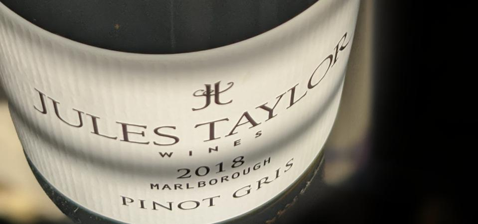 2018 Jules Taylor Pinot GrisCATHRINE TODD