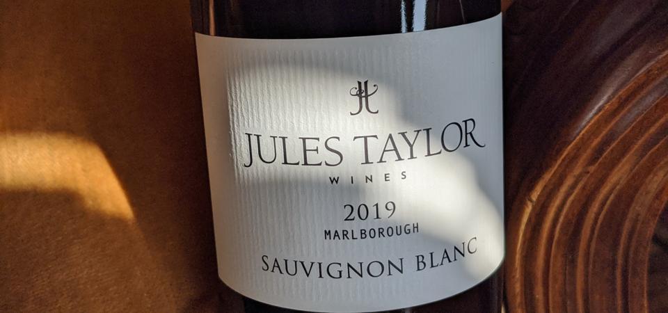 2019 Jules Taylor Sauvignon Blanc