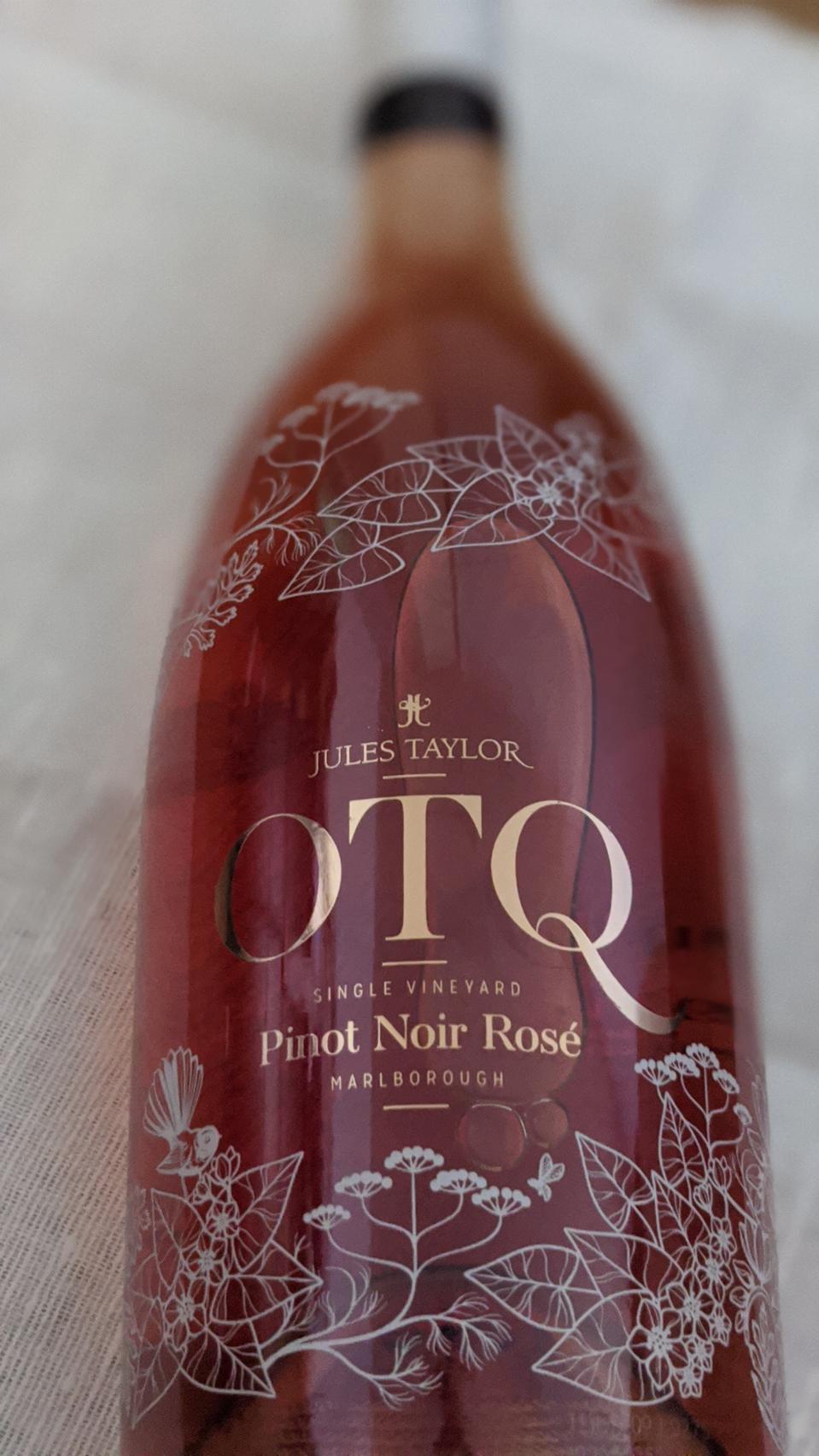 2019 Jules Taylor OTQ Pinot Noir Rosé 'Branken Hill Vineyard'