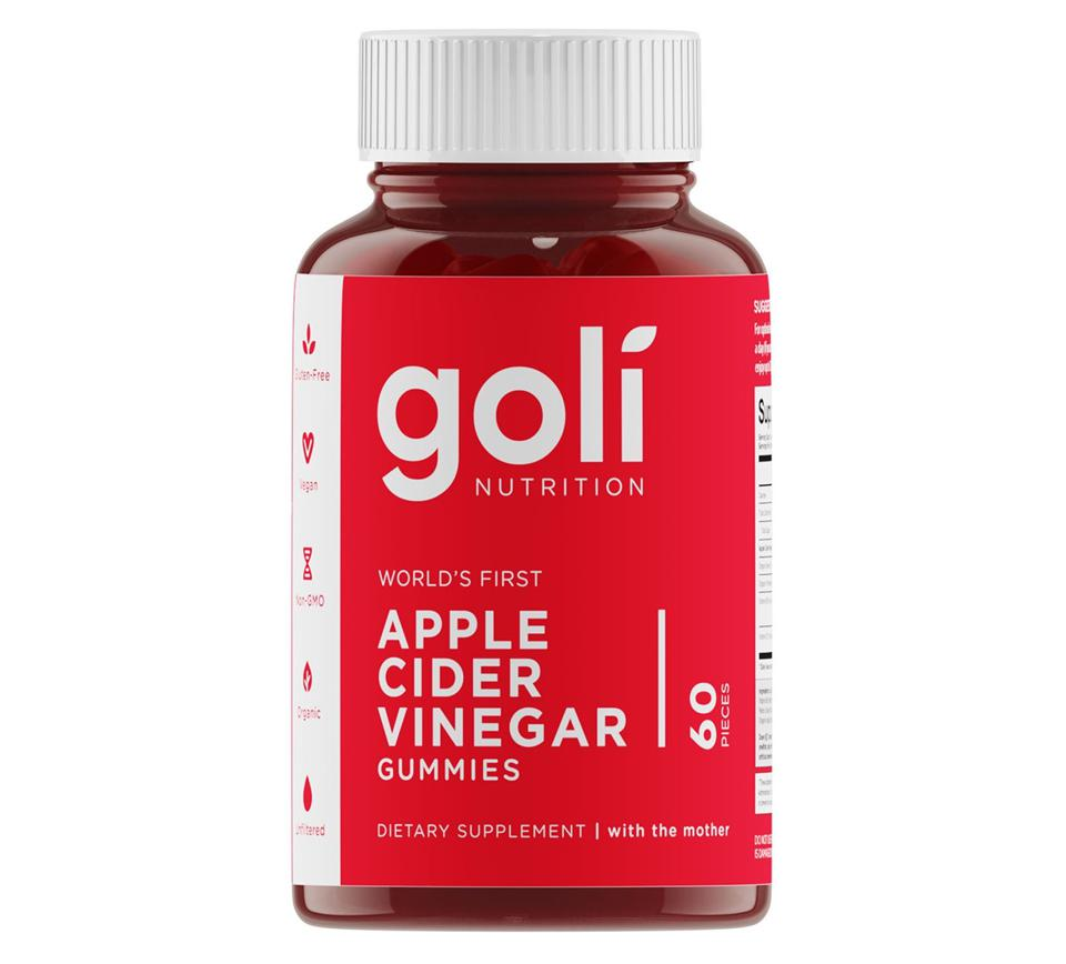 Goli Nutrition World's First Apple Cider Vinegar Gummy Vitamins
