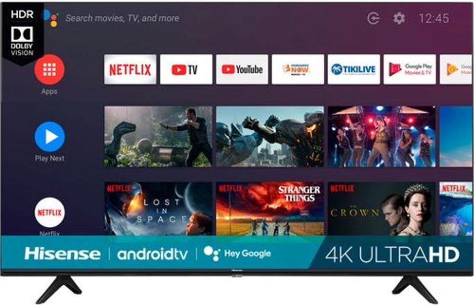Hisense 50″ LED 4K Android TV