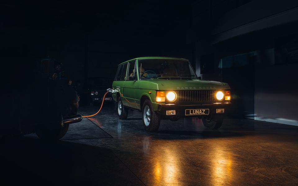 Electric Range Rover by Lunaz