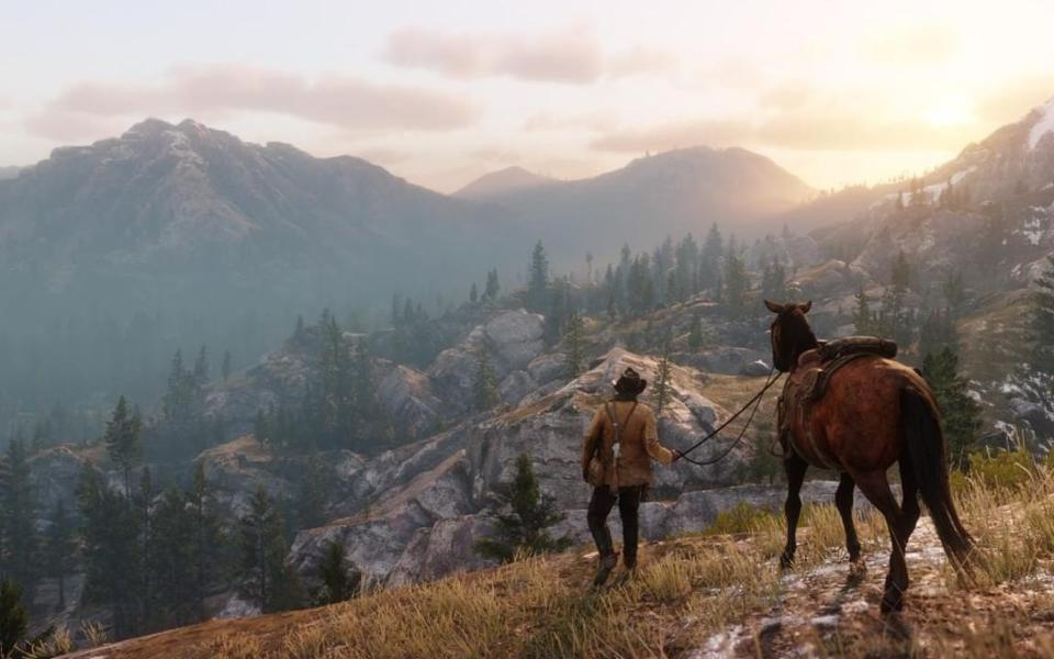 Rockstar Games' Red Dead Redemption 2, a game whose 'open-world' mechanics inspired some of the Pangaia experience.