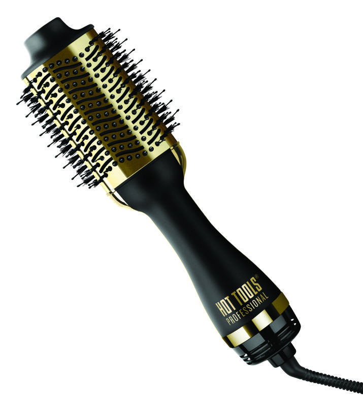The lightweight 24K Gold One Step Pro Blowout Styler & Volumizer Blowout is the perfect gift for styling pros looking to create beautiful, long-lasting hairstyles.