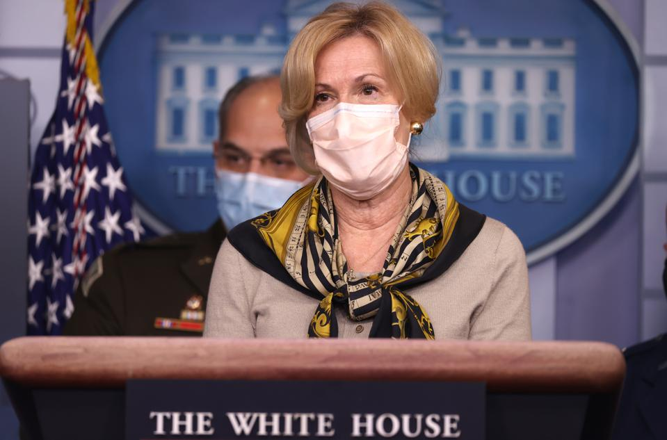 Members Of Coronavirus Task Force Hold A Briefing At The White House