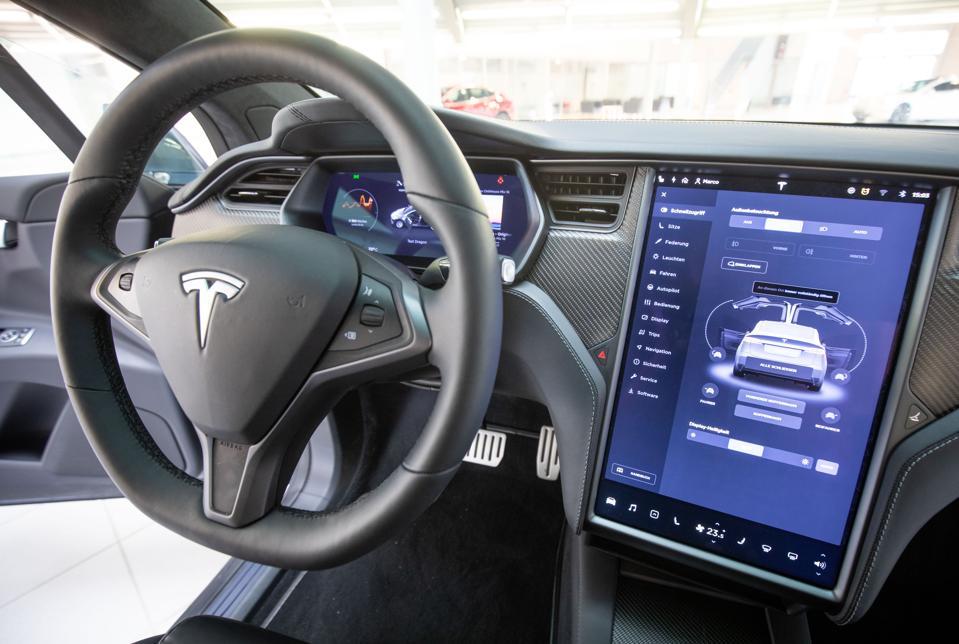 Inside a Tesla