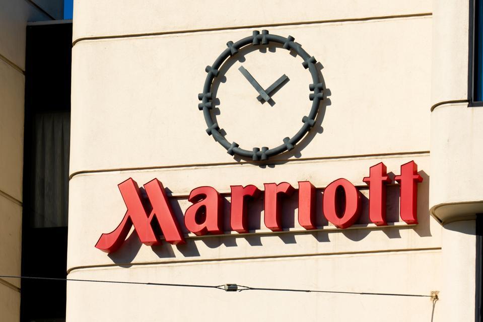 American multinational hospitality company Marriott hotel...