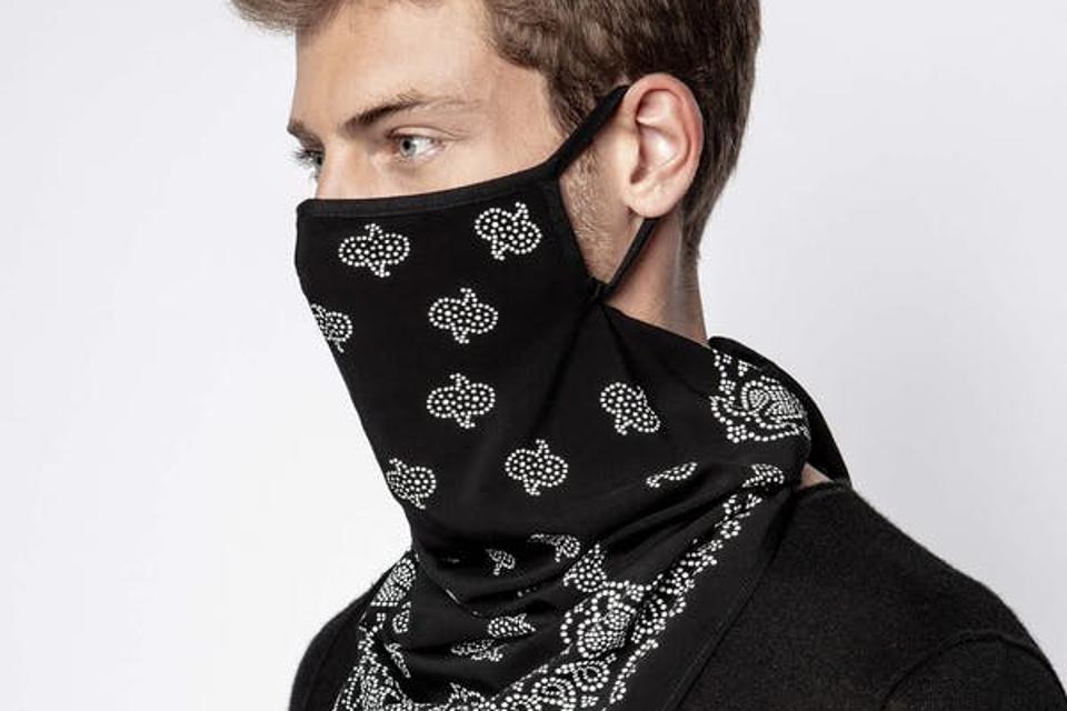 Foulard Bandana Mask by Zadig & Voltaire