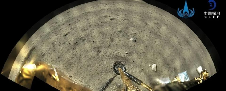 The Chinese space probe Chang'e-5 successfully collected rocks on the Moon for the first time in 44 years.