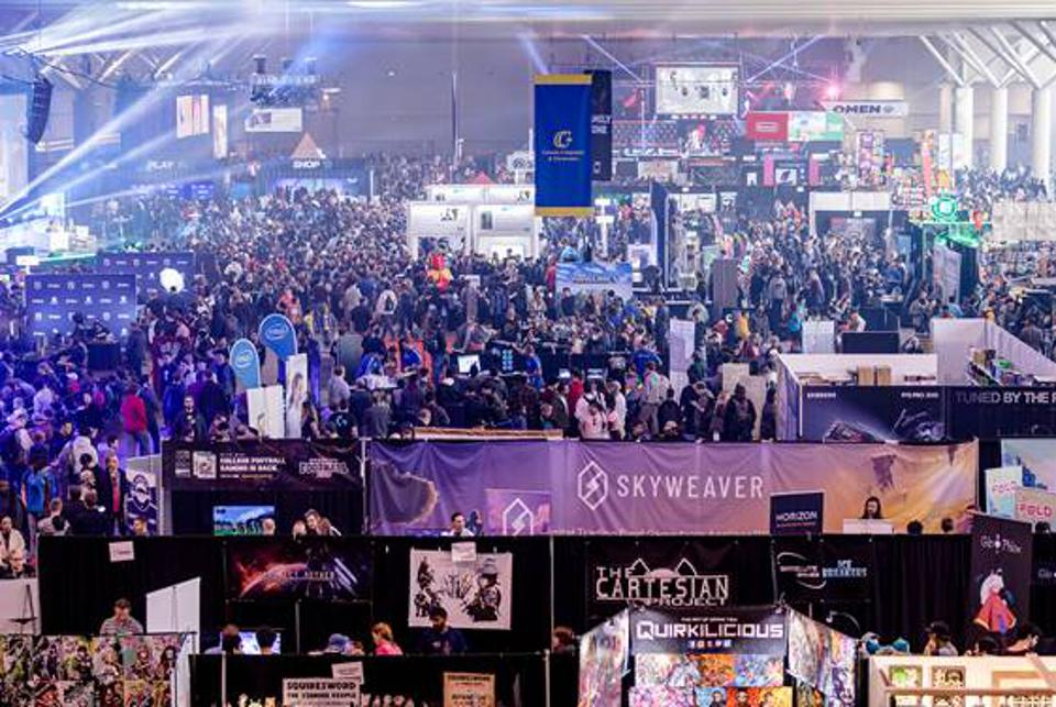 Enthusiast Gaming Event in a large arena
