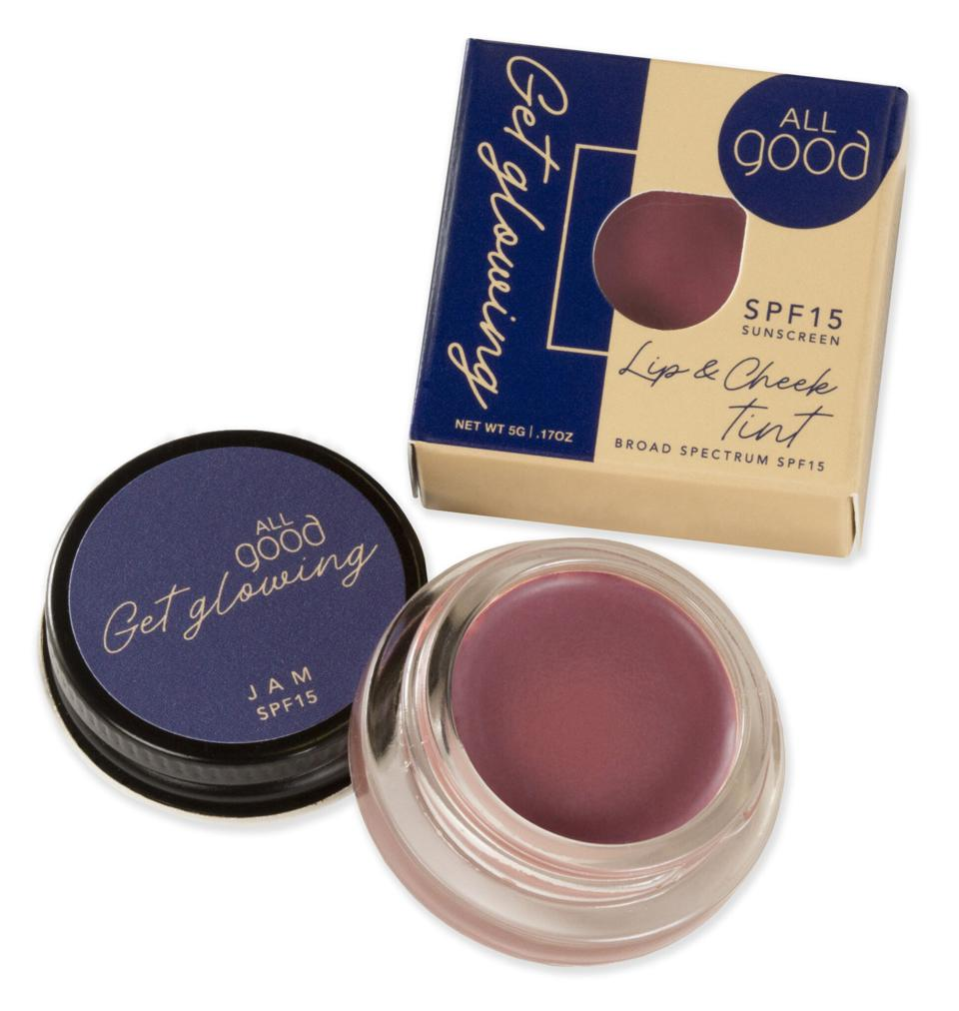 Lip and Cheek Tint, Cosmetics, Skincare