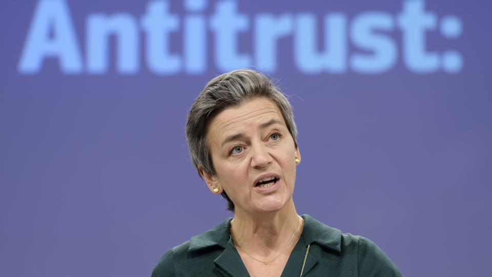 Press Conference By EU Commission Executive Vice-President Vestager