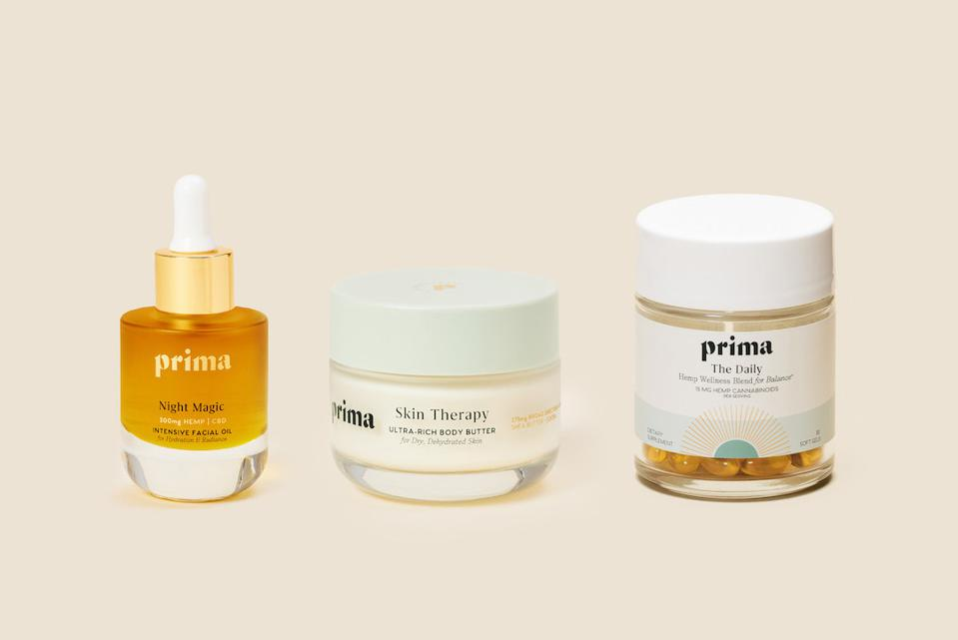 Prima, clean beauty, CBD wellness, CBD gift guide, luxury cannabis, CBD gifts
