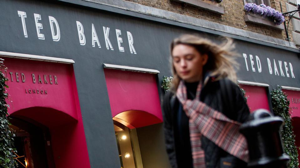 Ted Baker store, Covent Garden, London.