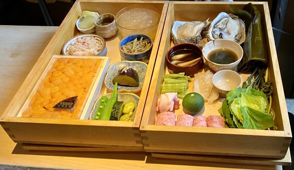 Meals at Higashiyama Wakon in Kanazawa, Japan, begin with the best, freshest ingredients