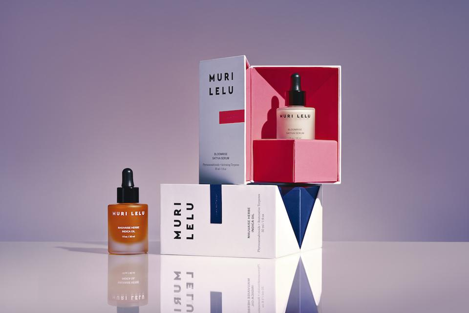 Muri Lelu, luxury skincare, luxury cannabis, CBD beauty, CBD gifts, CBD skincare, CBD