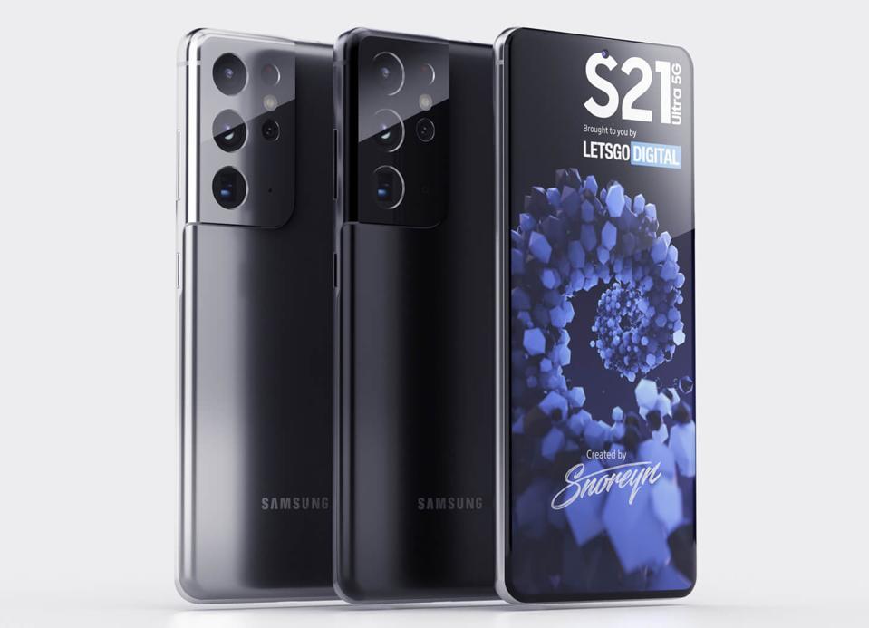 Galaxy S21 Ultra 5G renders