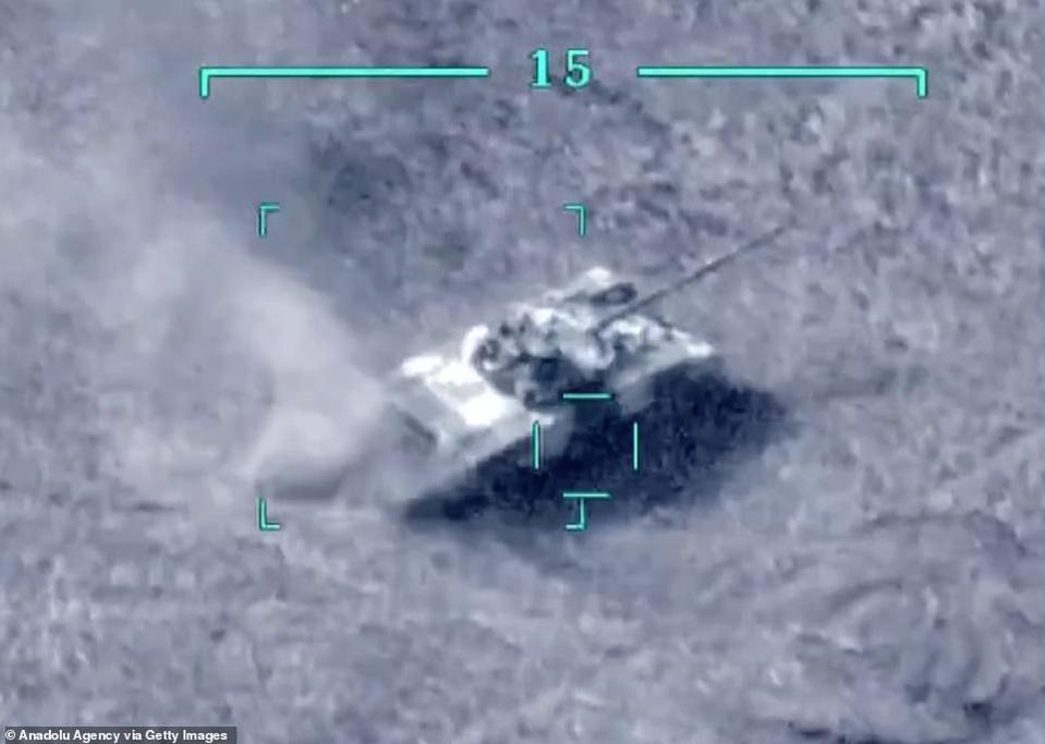 ARMENIA, AZERBAIJAN, NAGORNO-KARABAKH, T-72 TANK,