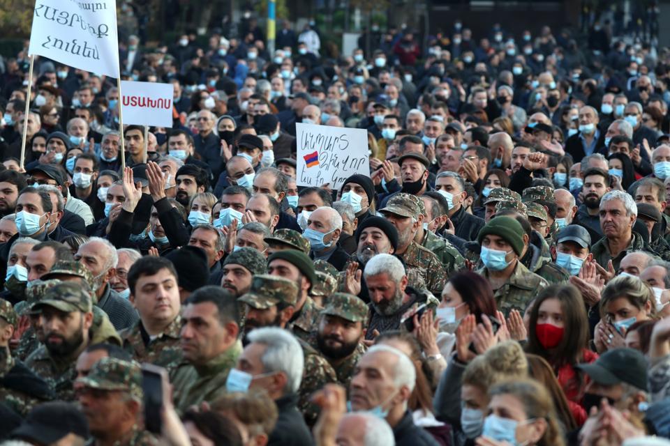 Situation in Yerevan, Armenia
