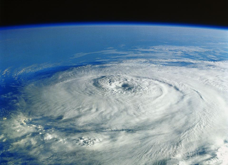HURRICANE IN THE GULF OF MEXICO BY NASA SPACE PHOTO