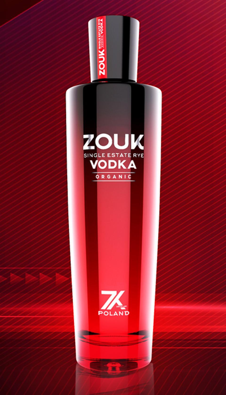 Zouk, Single Estate Rye Vodka