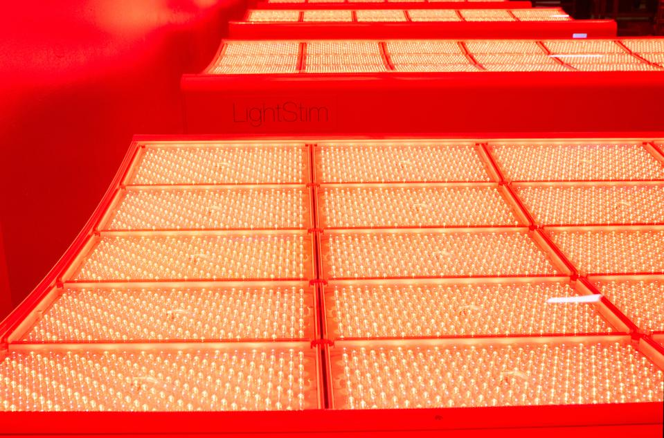 LED (Light Emitting Diode) therapy bed from LightStim
