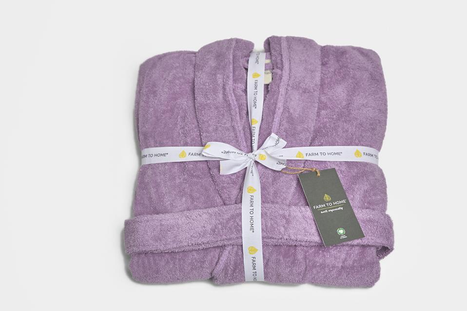 vegan eco-friendly robe