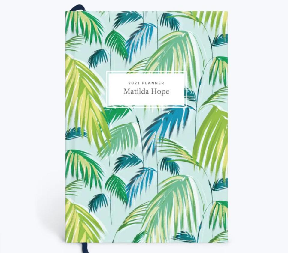 Tropical Palms 2021 Planner from Papier