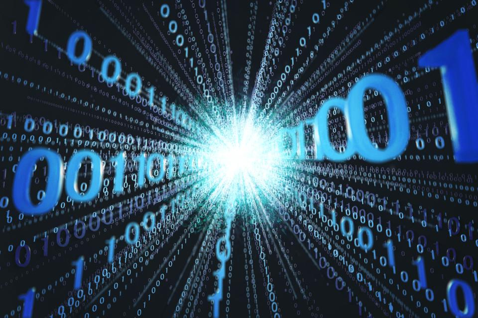 Quantum with binary code