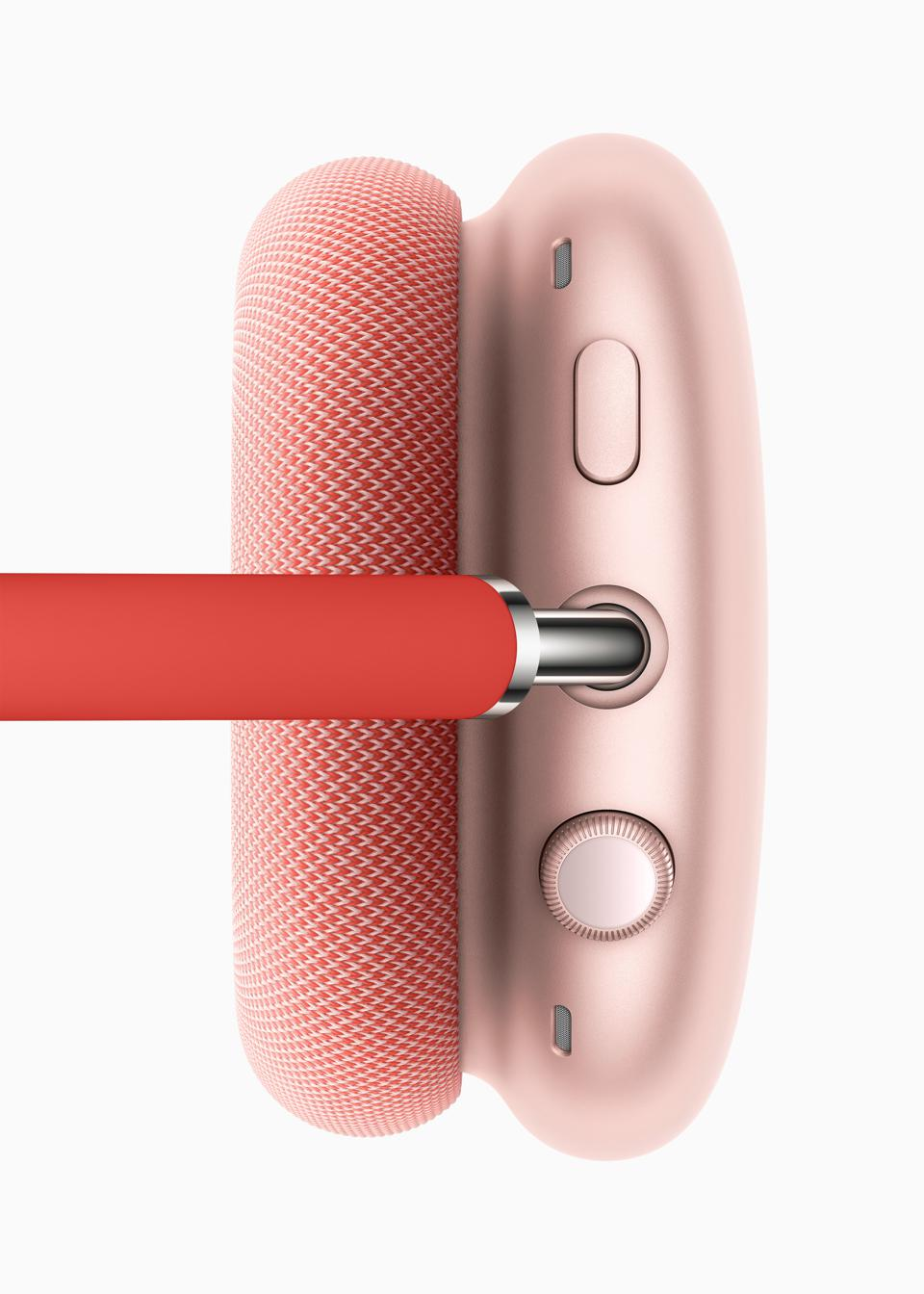 The Digital Crown on the AirPods Max.