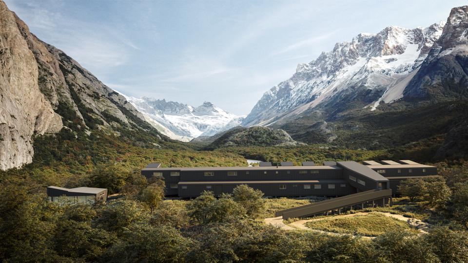 The stunning new Wxplora El Chaltén is set within a private natural reserve in Argentinian Patagonia