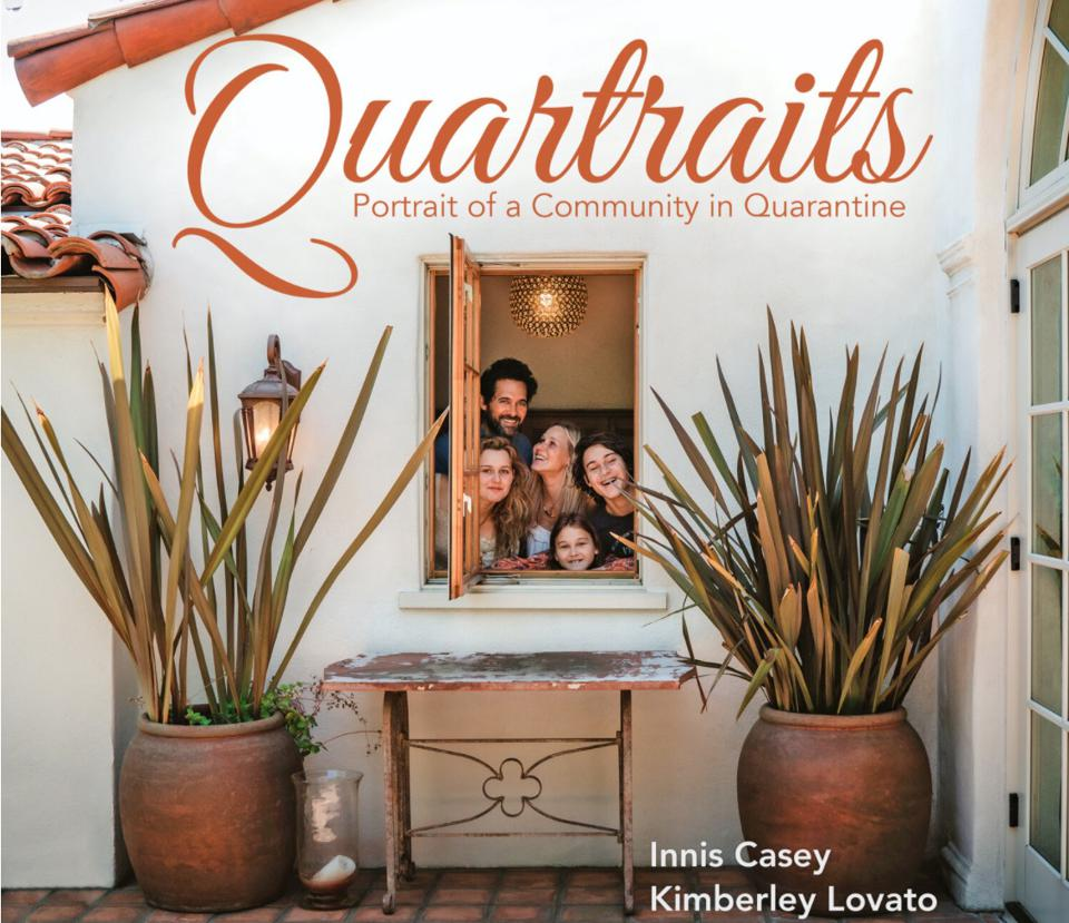 Quartraits: Portraits of a Community in Quarantine by Innis Casey and Kimberley Lovato