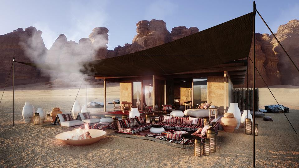 Habitas AlUla is using its innovative modular build technique to create the new hotel in Saudi Arabia