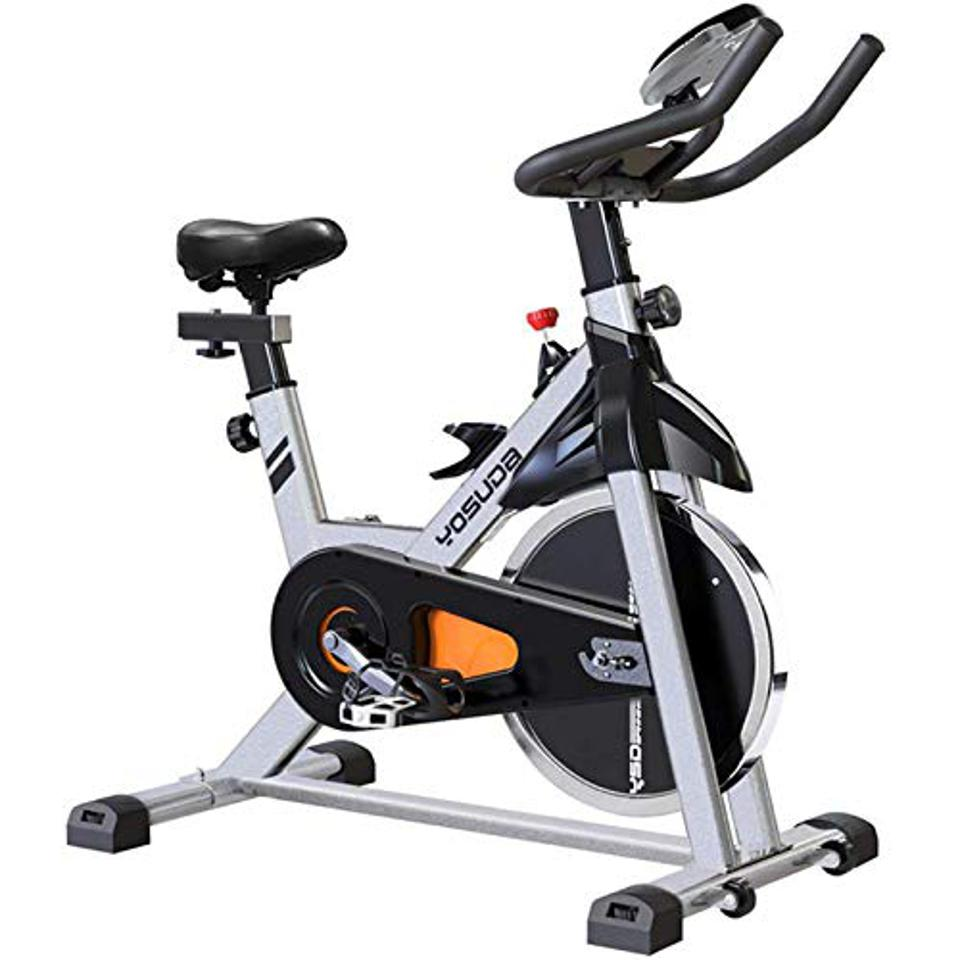 The best exercise bike overall is the YOSUDA Indoor Cycling Bike with iPad Mount