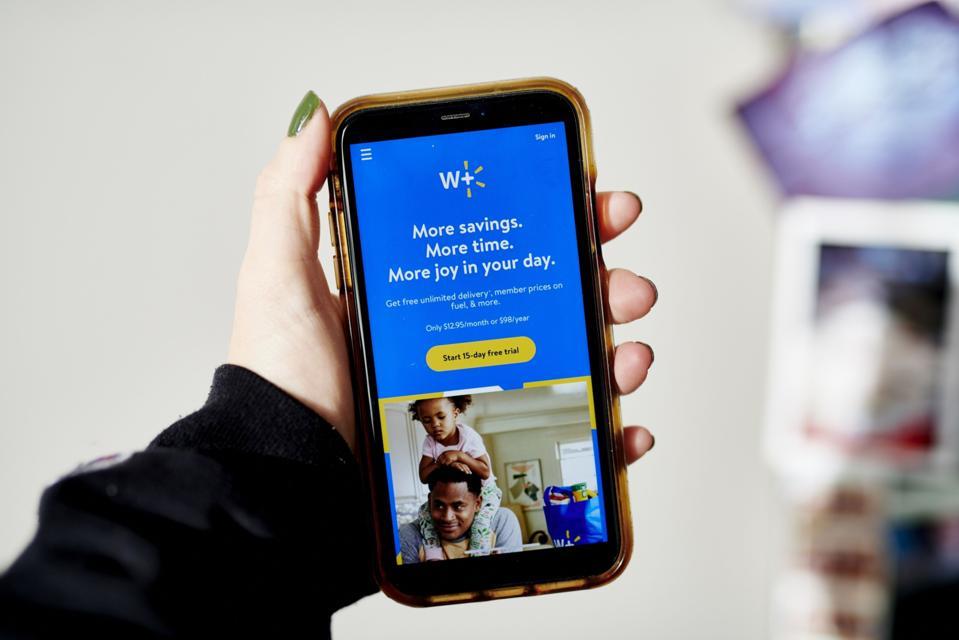 Walmart mobile home screen