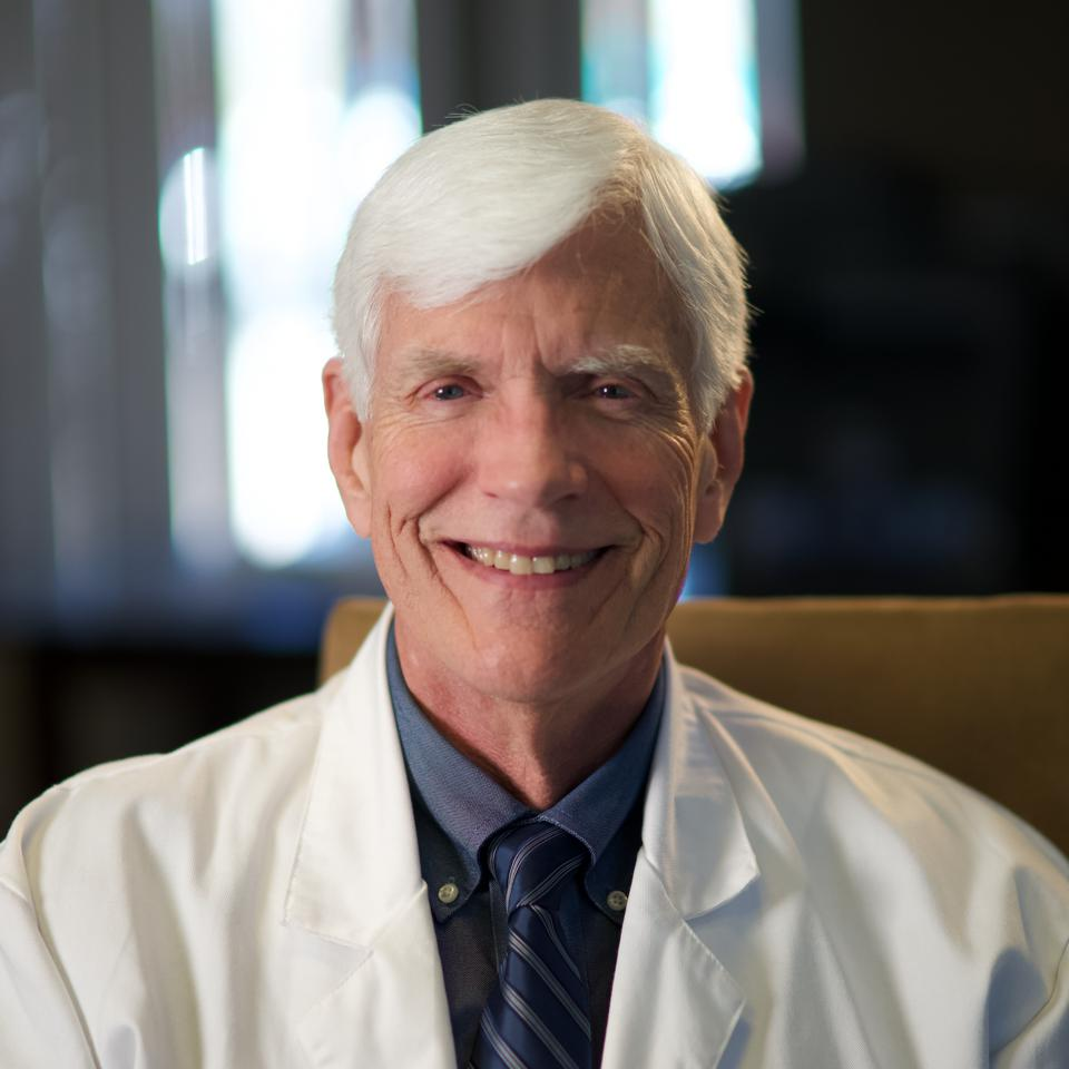Dr. Alan Shackelford smiles