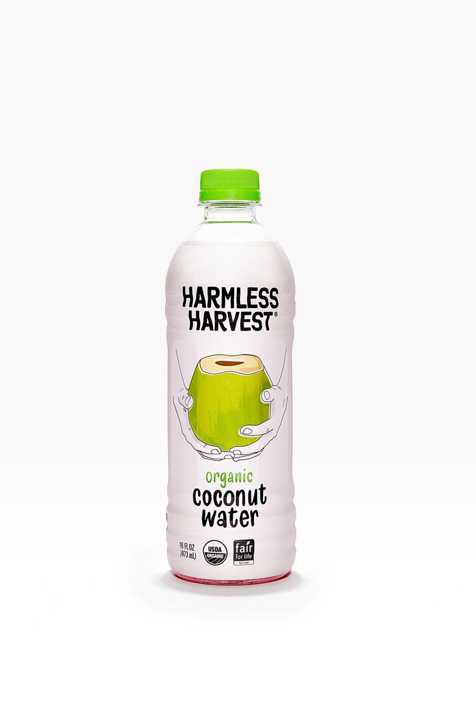 Harmless Harvest is the leading brand of organic coconut water in the U.S.