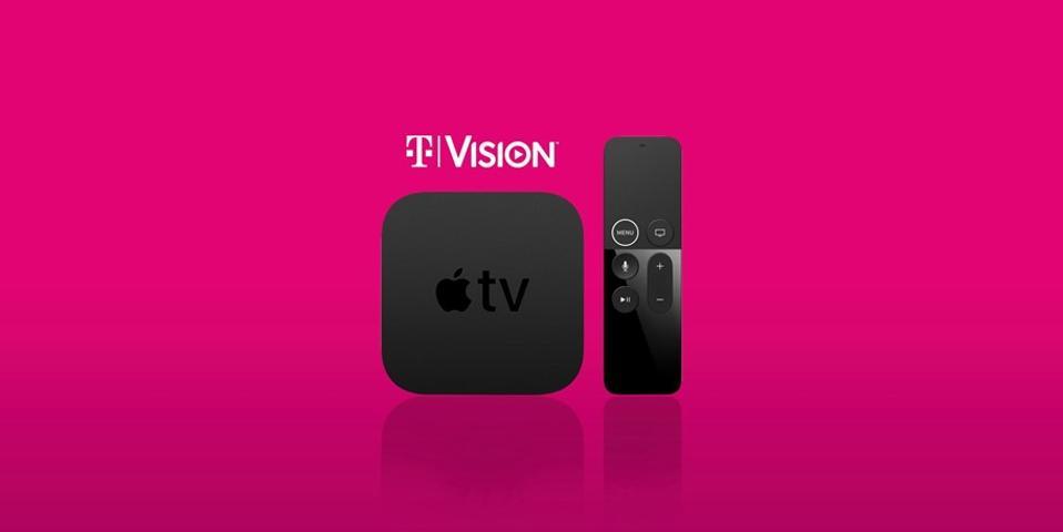 T-Mobile TVision & Apple TV