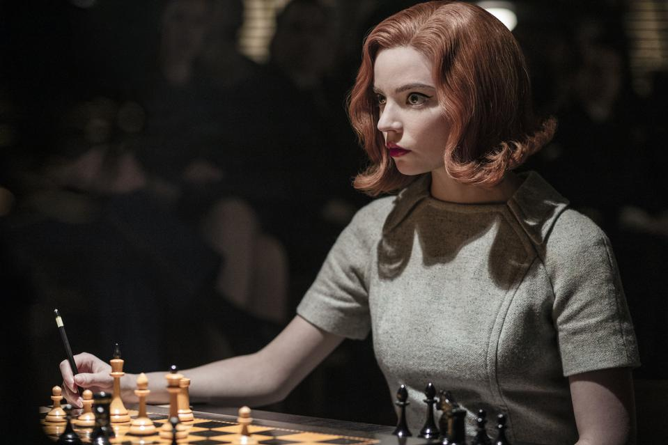 Fans have devoured 'The Queen's Gambit' and Netflix recently announced that in its first 28 days, a record 62 million households binge-watched the series making this the streamer's most popular limited scripted series ever.