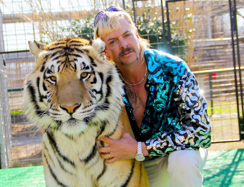 Fans couldn't get enough of Joe Exotic, a mulleted, gun-toting polygamist and country-western singer who presides over an Oklahoma roadside zoo, and his cohorts.