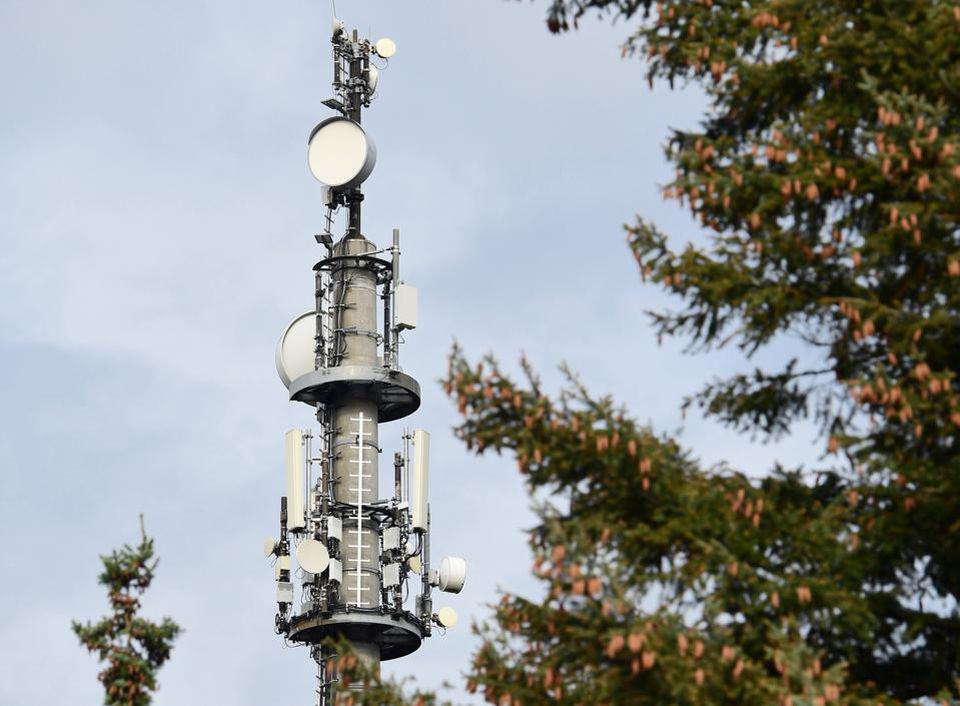 The first Brandenburger transmission tower that meets the new 5G standard.