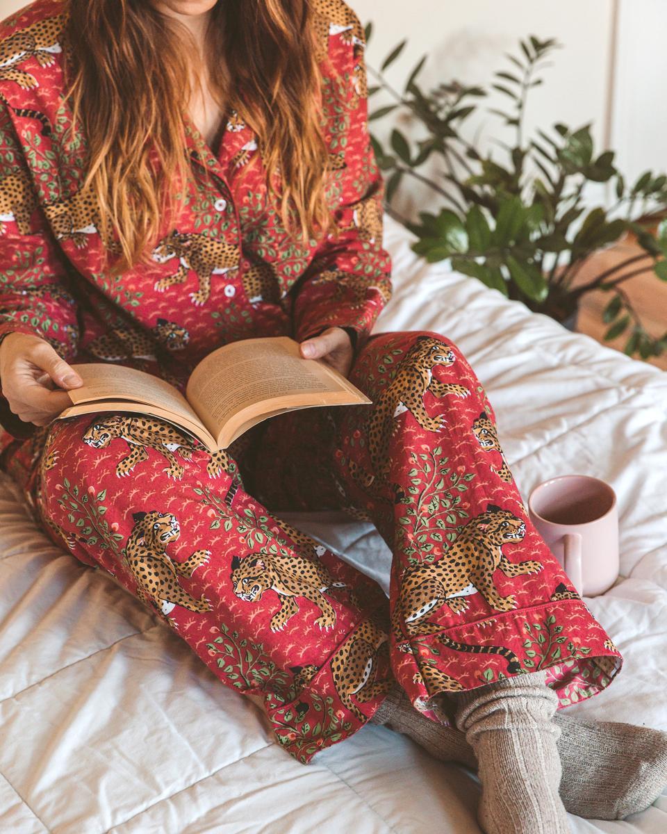 Bagheera Long Pajama Set from PRINTFRESH
