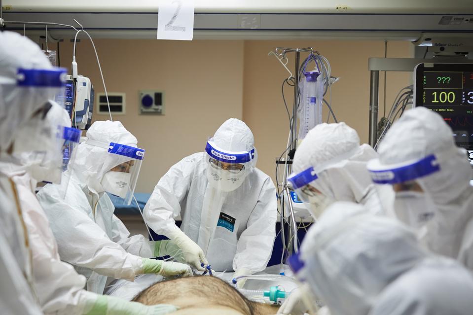 Palermo Covid-19 Hospital ICU