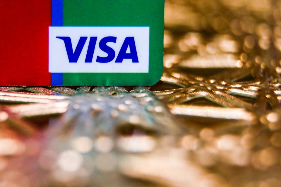 Mastercard And Visa Photo Illustrations
